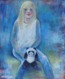 Meisje met Pandabeer