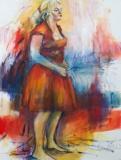 De rode jurk