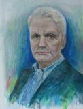 Vrije verbeelding portret van  A. van Dis (eigen foto)