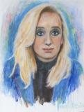 Vrije verbeelding portret van Eva Jinek (eigen foto)