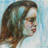 Portret meisje van 16